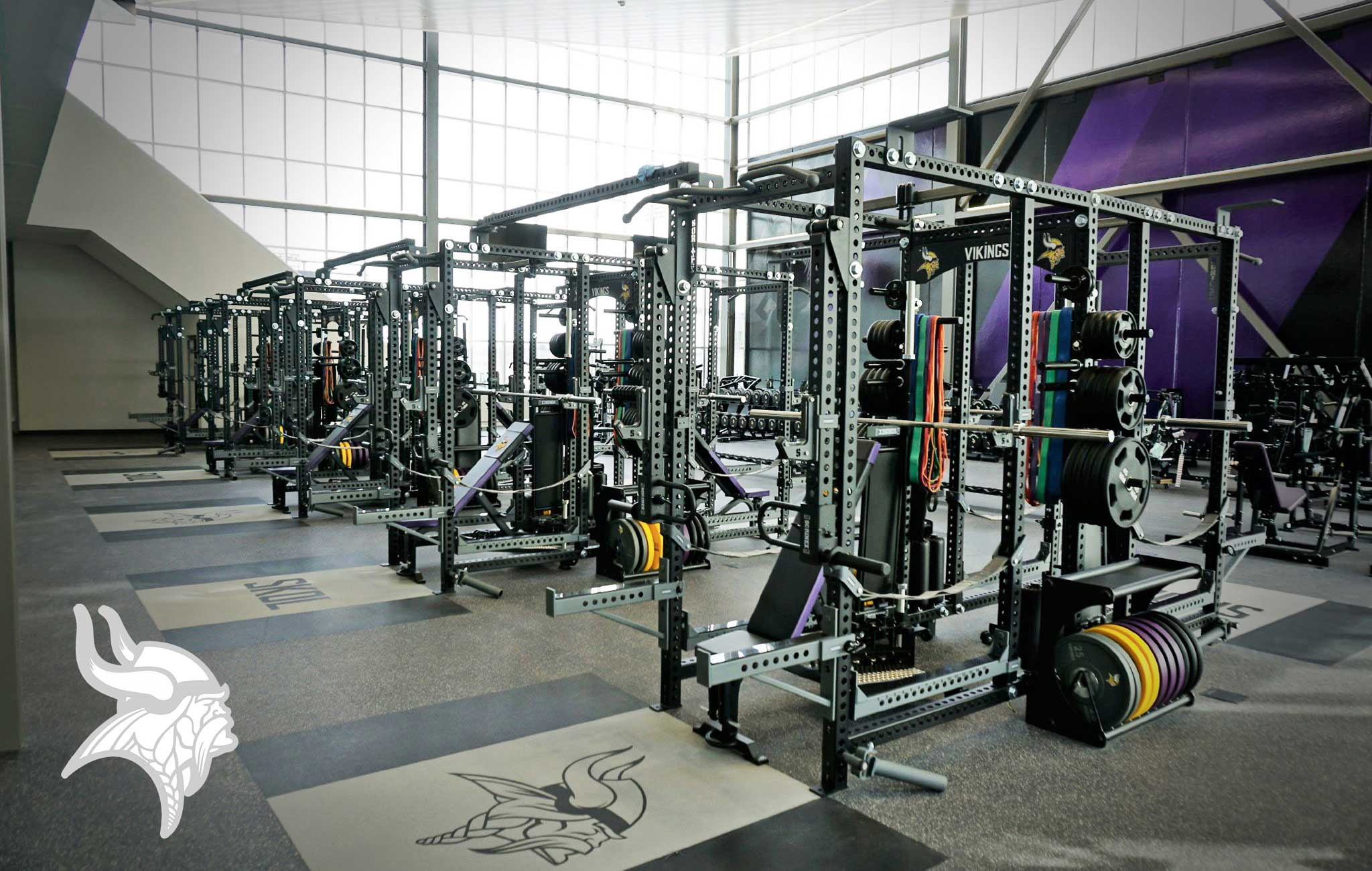 Minnesota Vikings Sorinex strength and conditioning facility