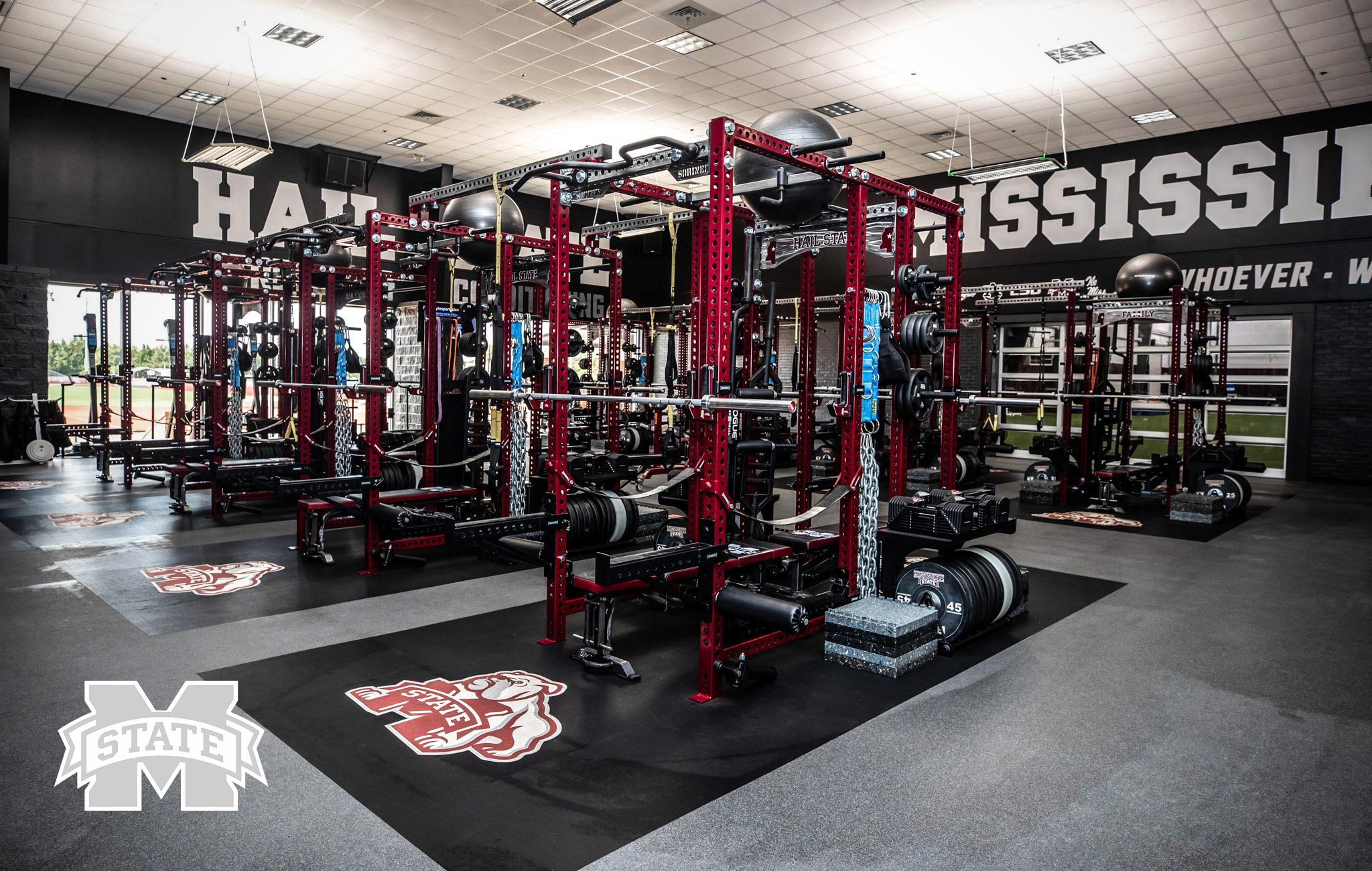 Mississippi State Sorinex strength and conditioning facility