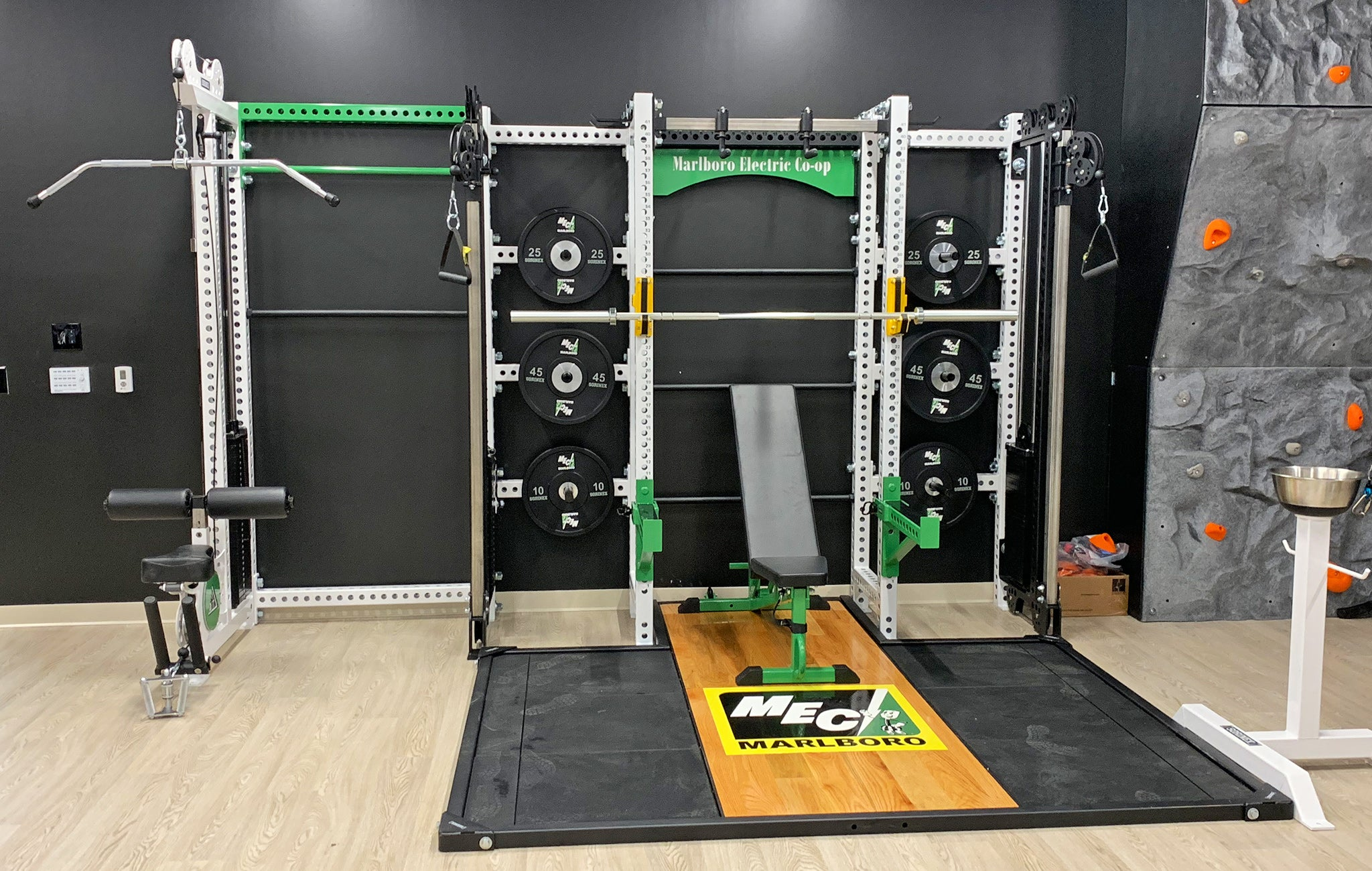 Malboro Electric weight room