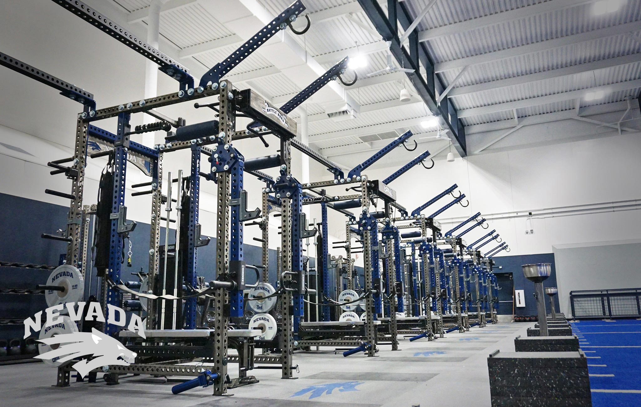University of Nevada Sorinex strength and conditioning facility