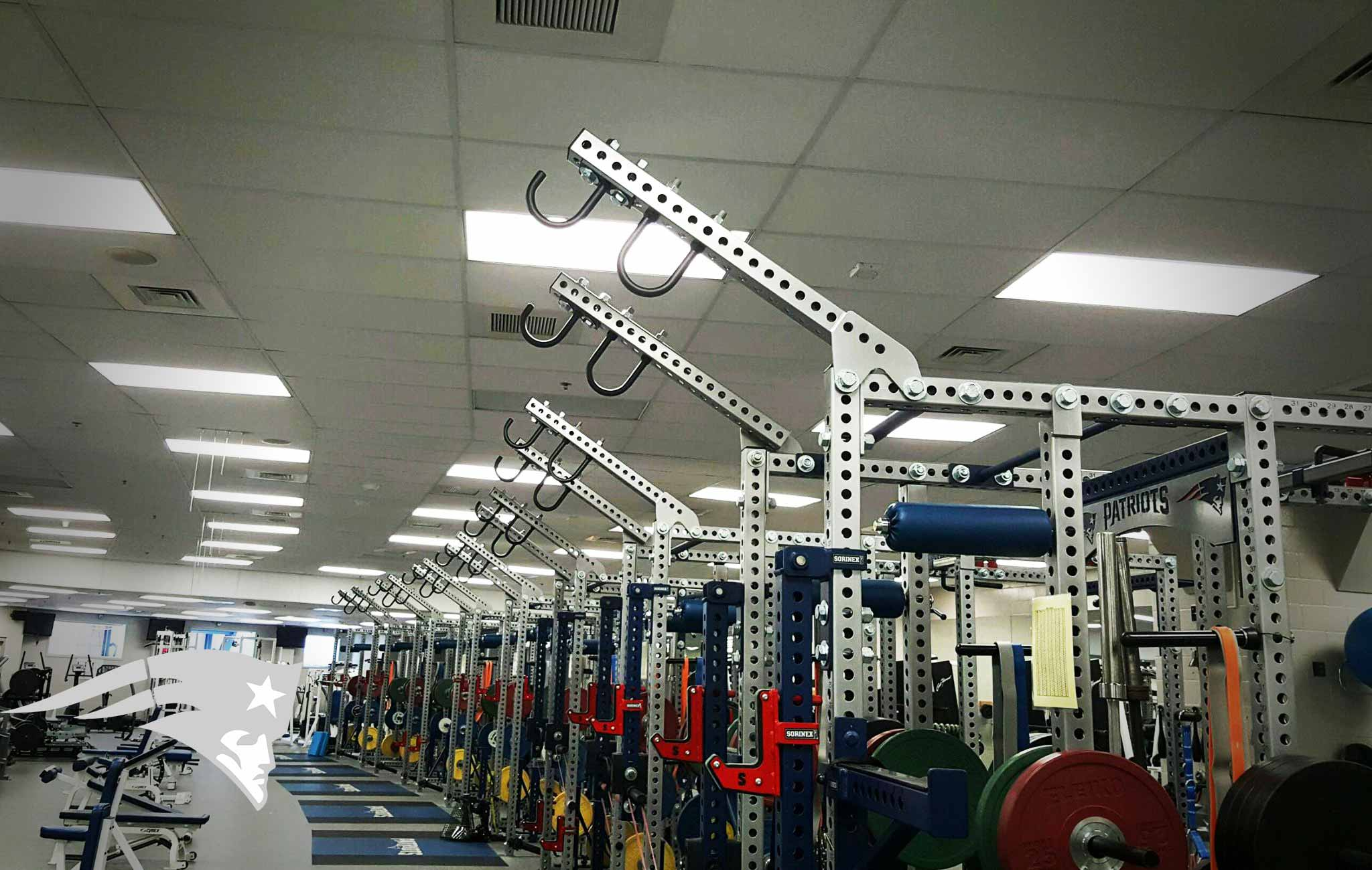 new england patriots Sorinex strength and conditioning facility
