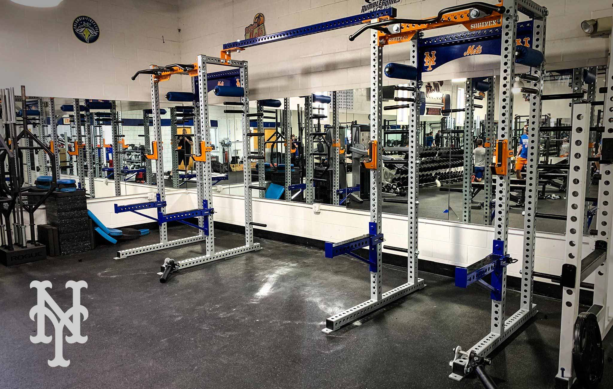New York Mets Sorinex strength and conditioning facility