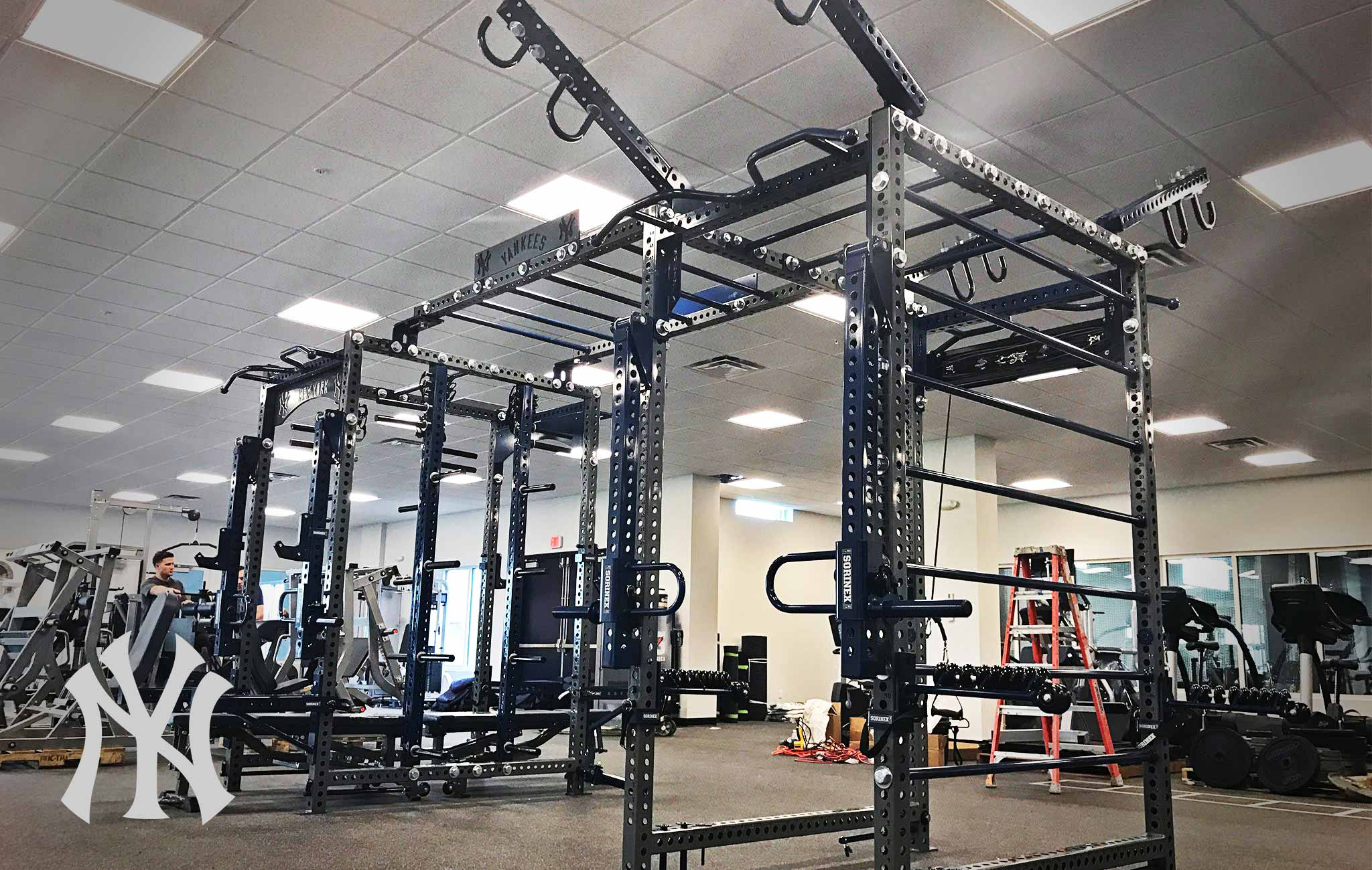 New York Yankees Sorinex strength and conditioning facility