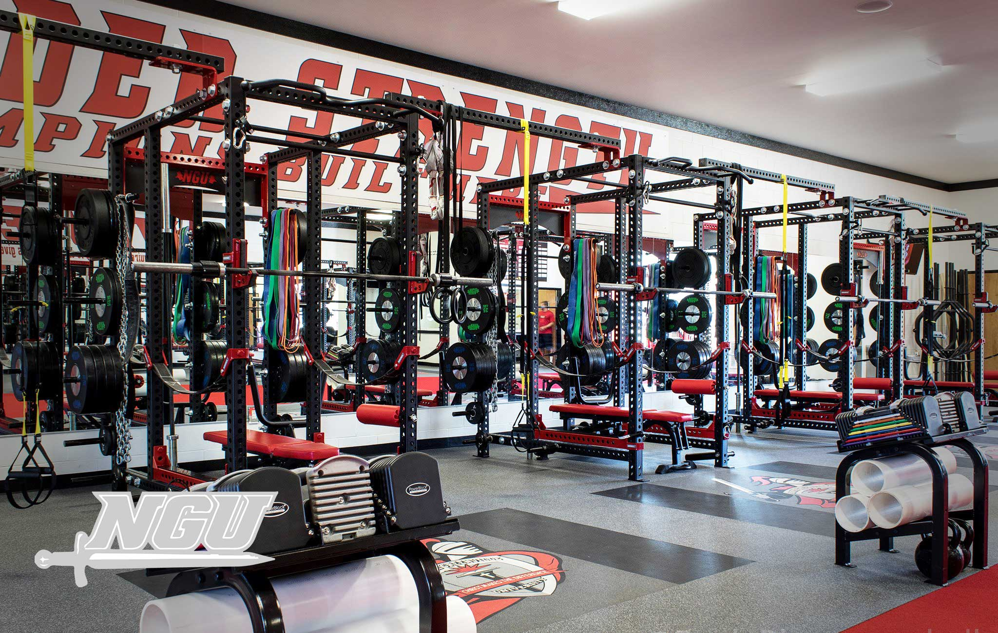 North Greenville University Sorinex strength and conditioning facility