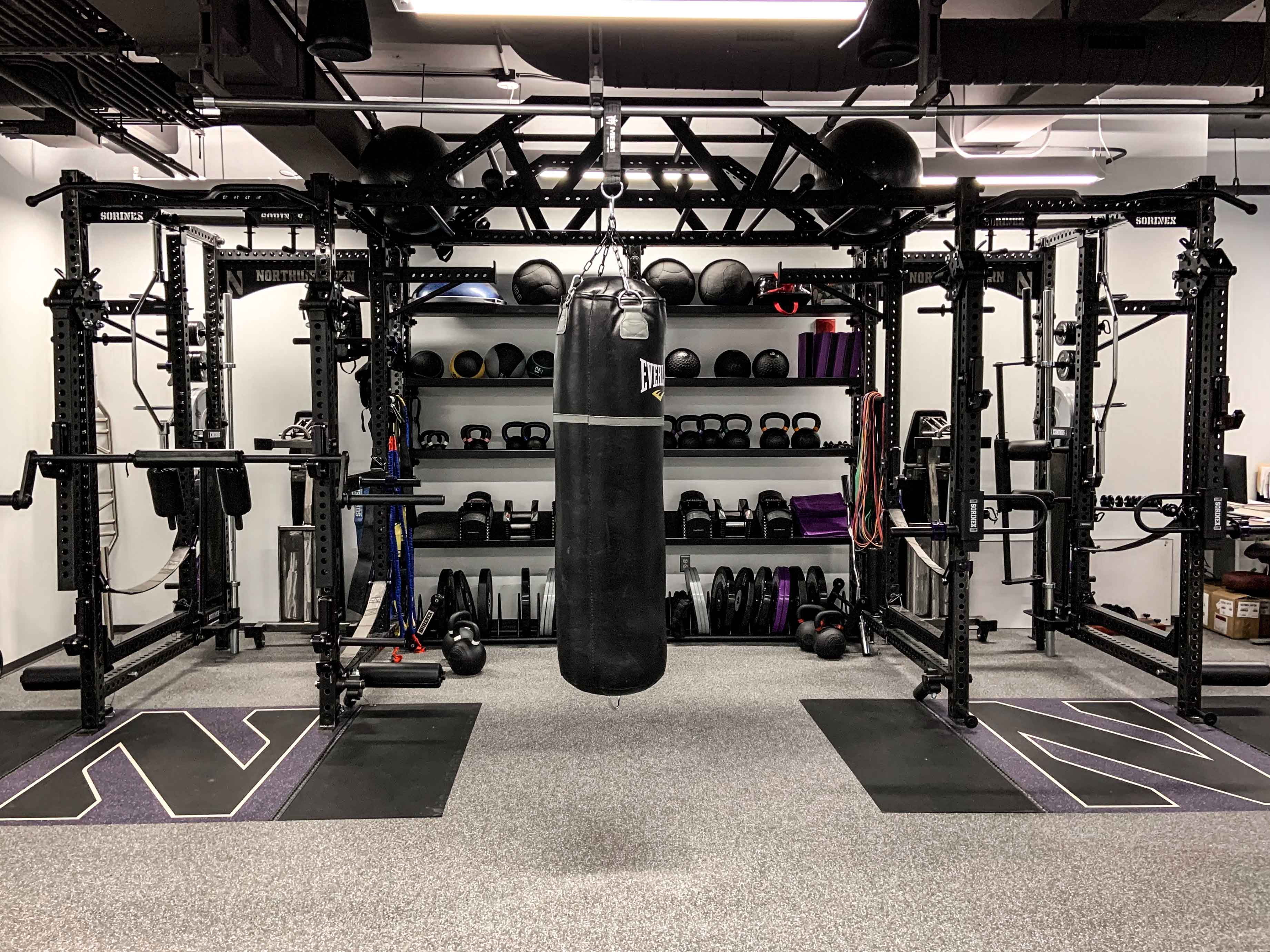 Northwestern University Golf Weight Room