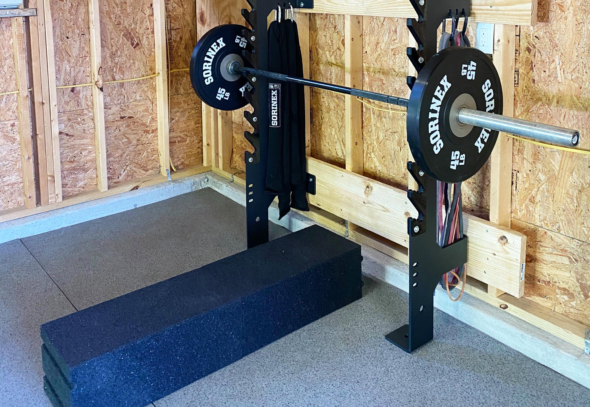 Sorinex Off Grid Rack with Rubber Utility Blocks