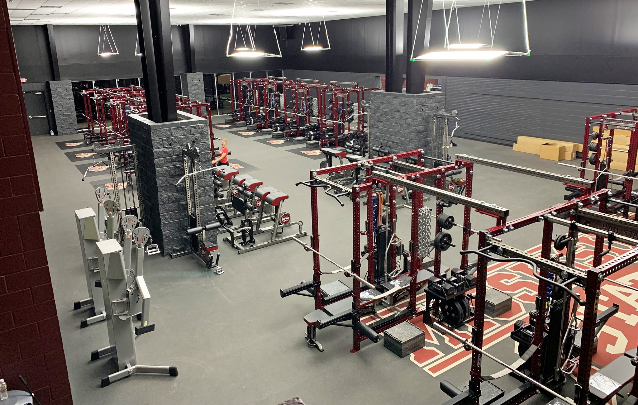 Mississippi State Weight Room