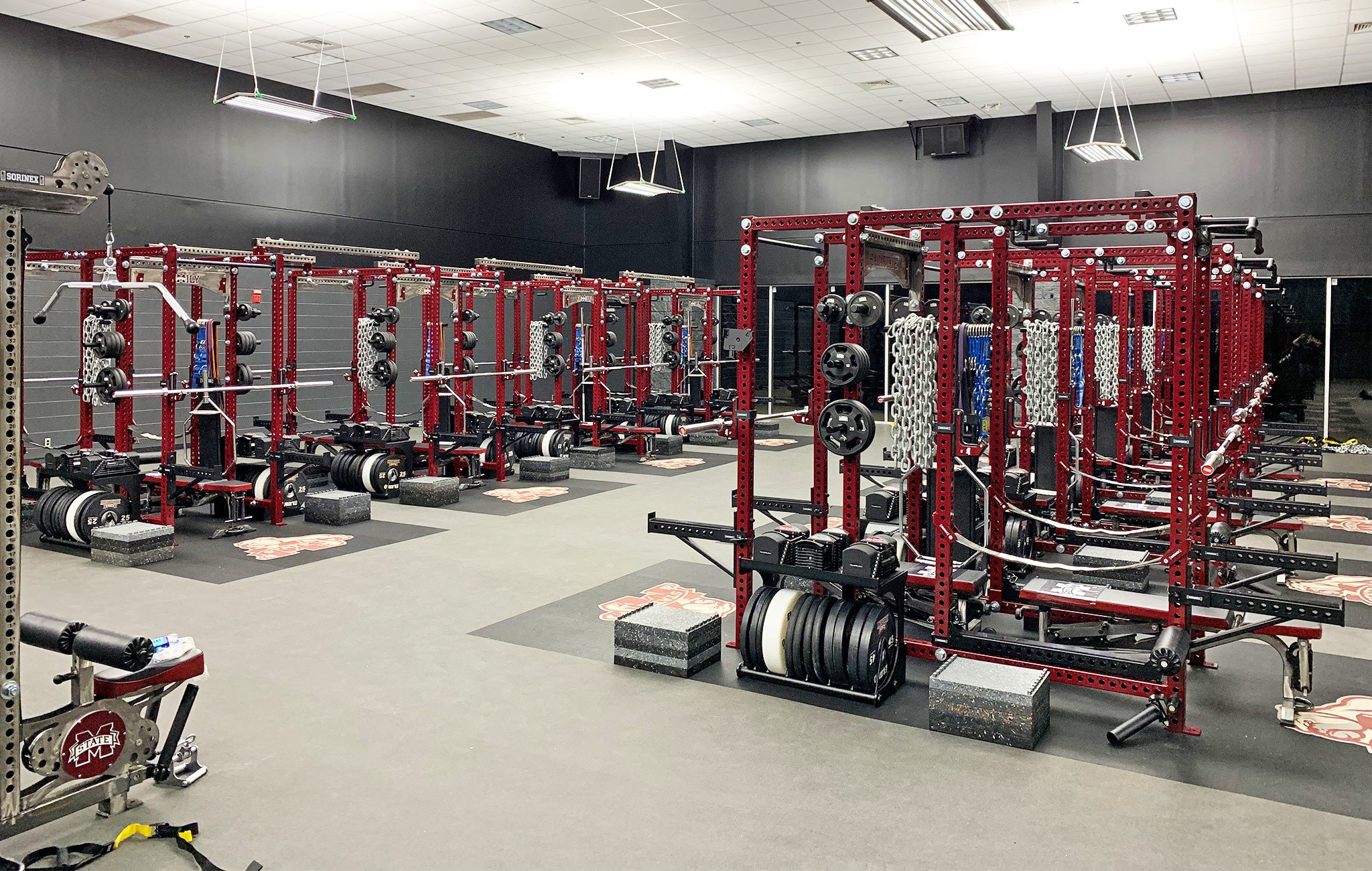 Mississippi State power racks