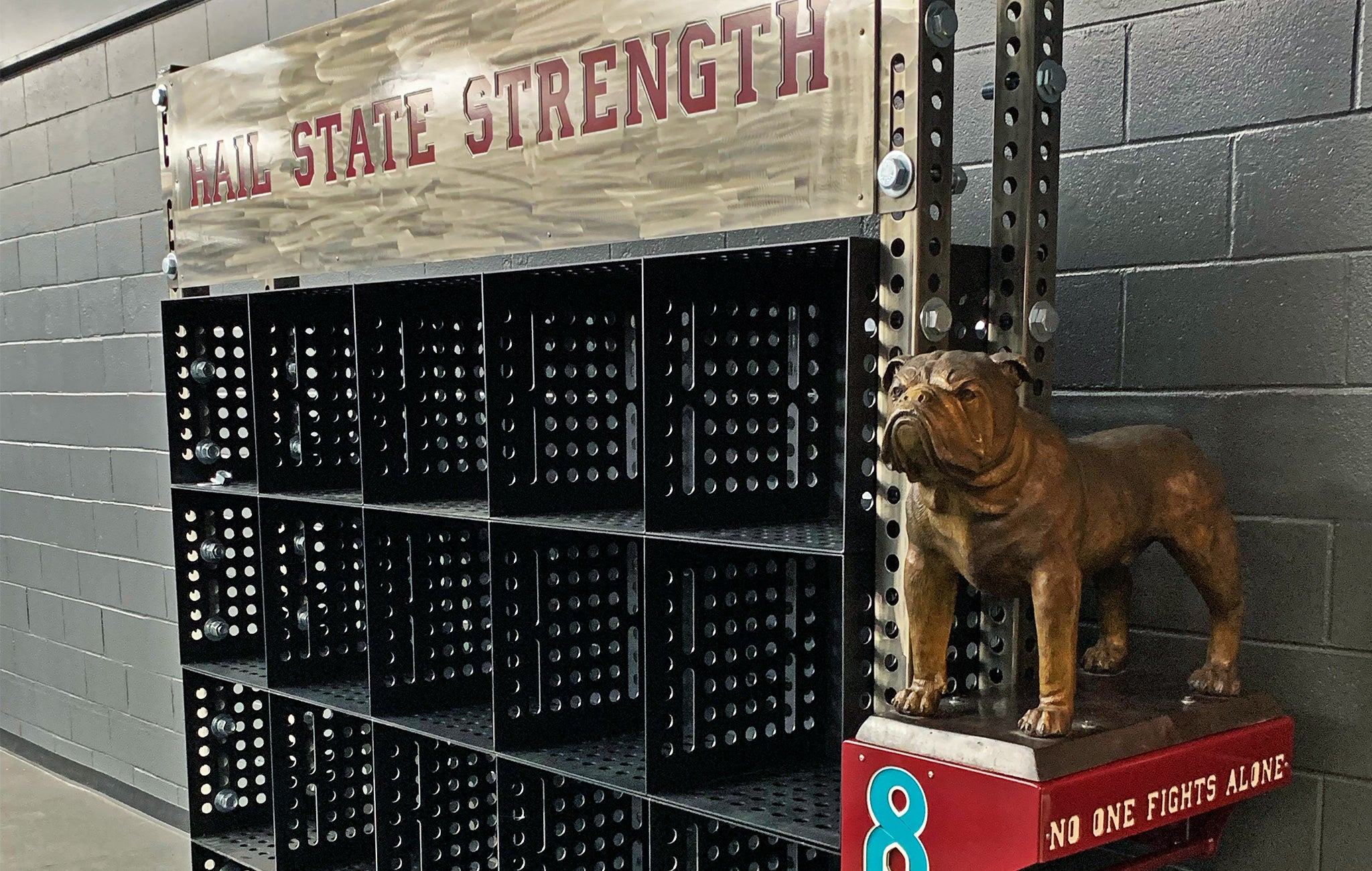 Mississippi State strength training facility