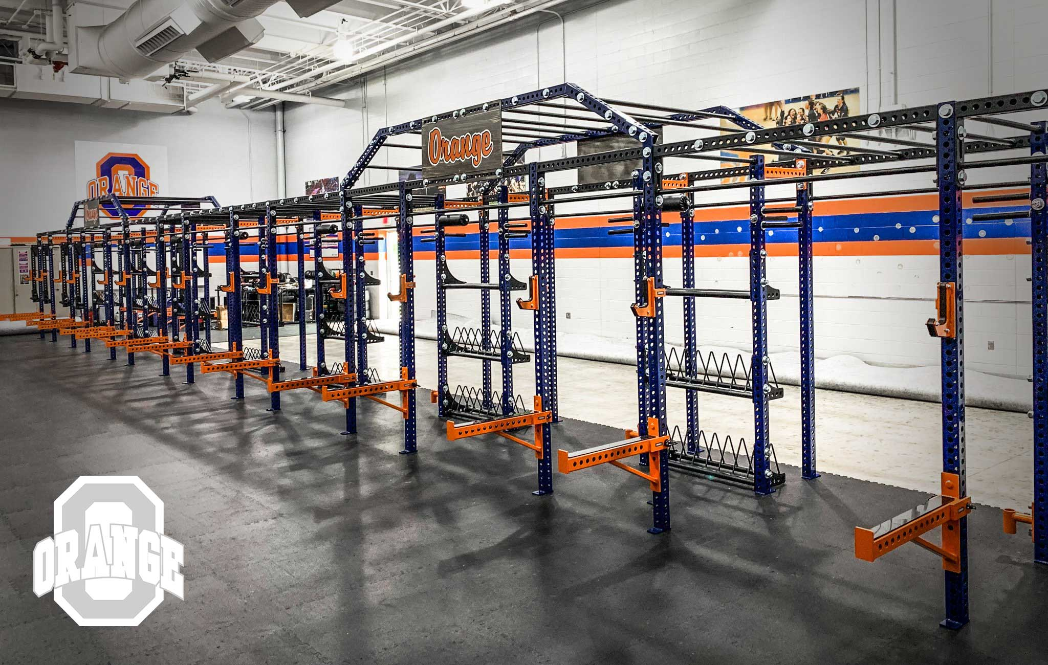Olentangy High School Sorinex strength and conditioning facility