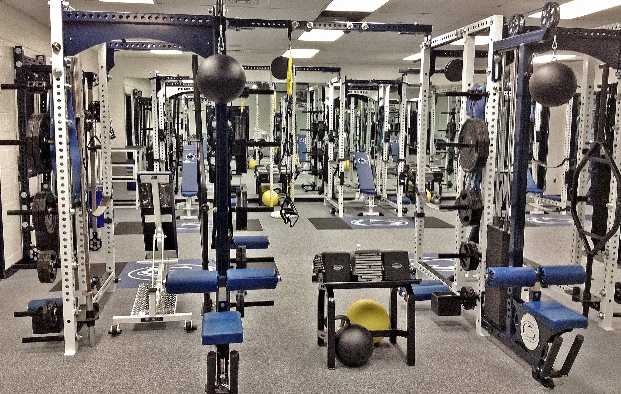 Penn State University Weight Room
