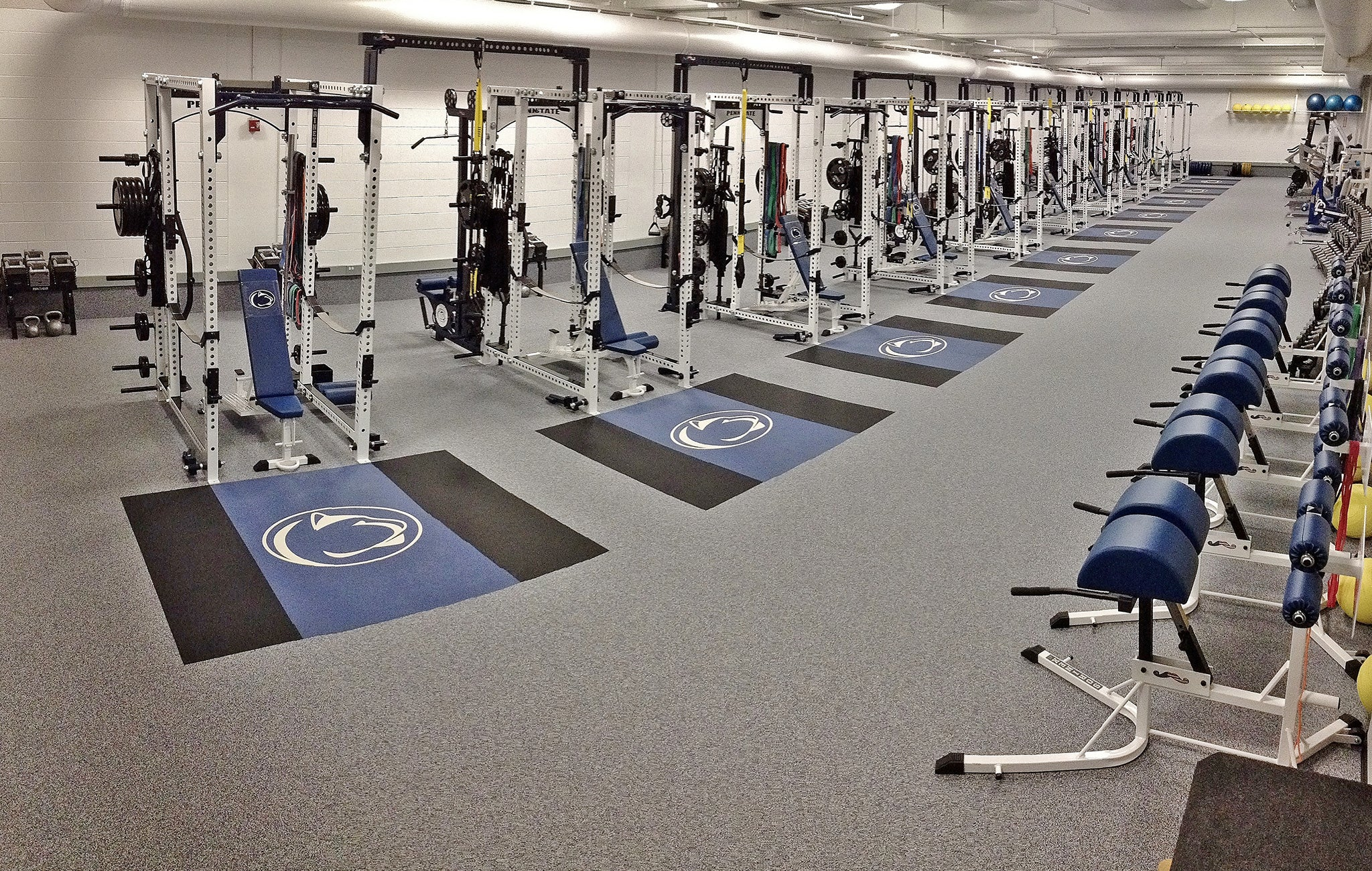 Penn State Wrestling Weight Room