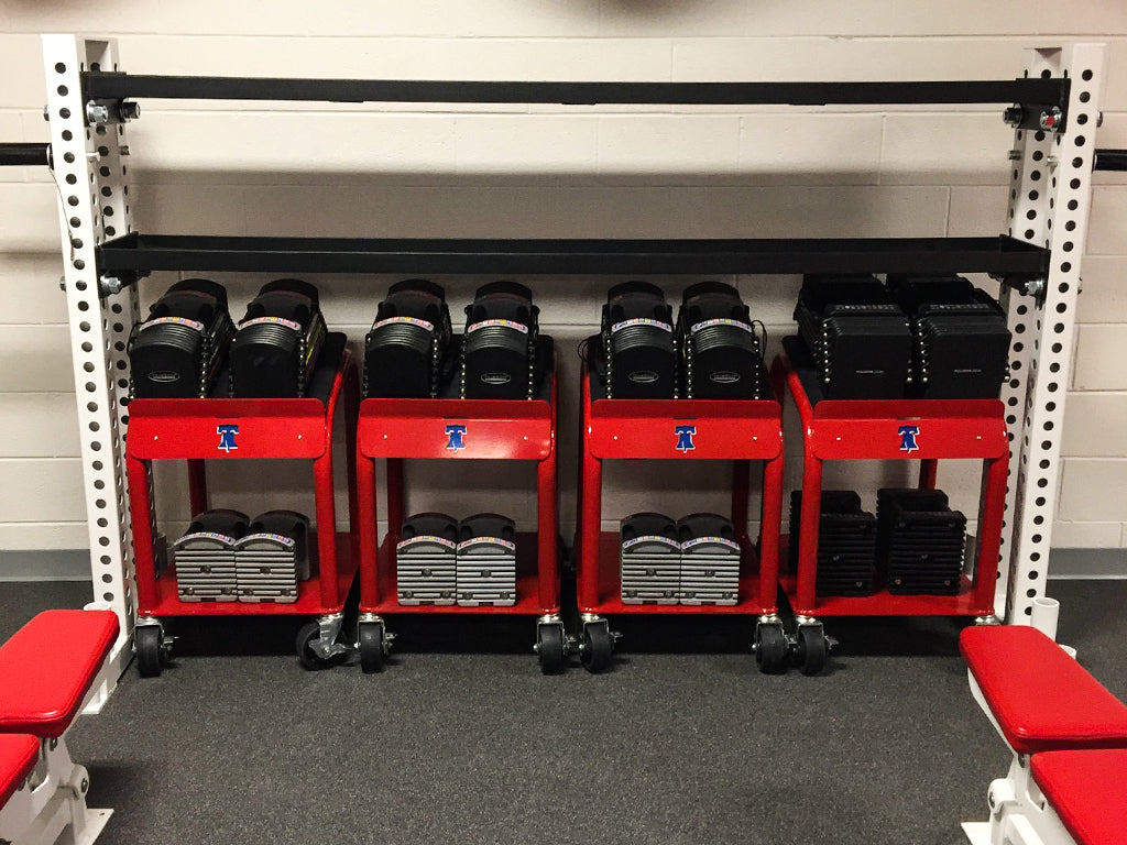 Philadelphia Phillies Rolling Power Block Cart
