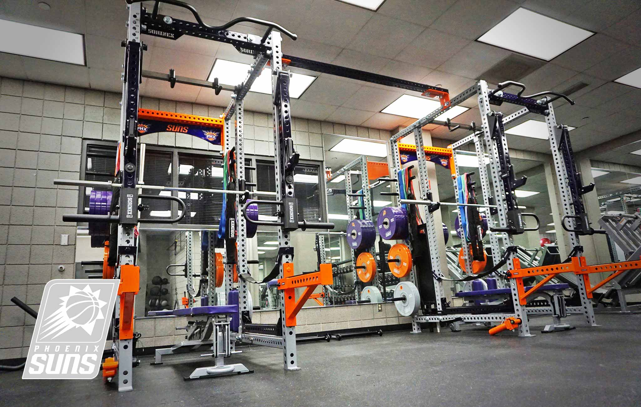 Phoenix Suns Sorinex strength and conditioning facility