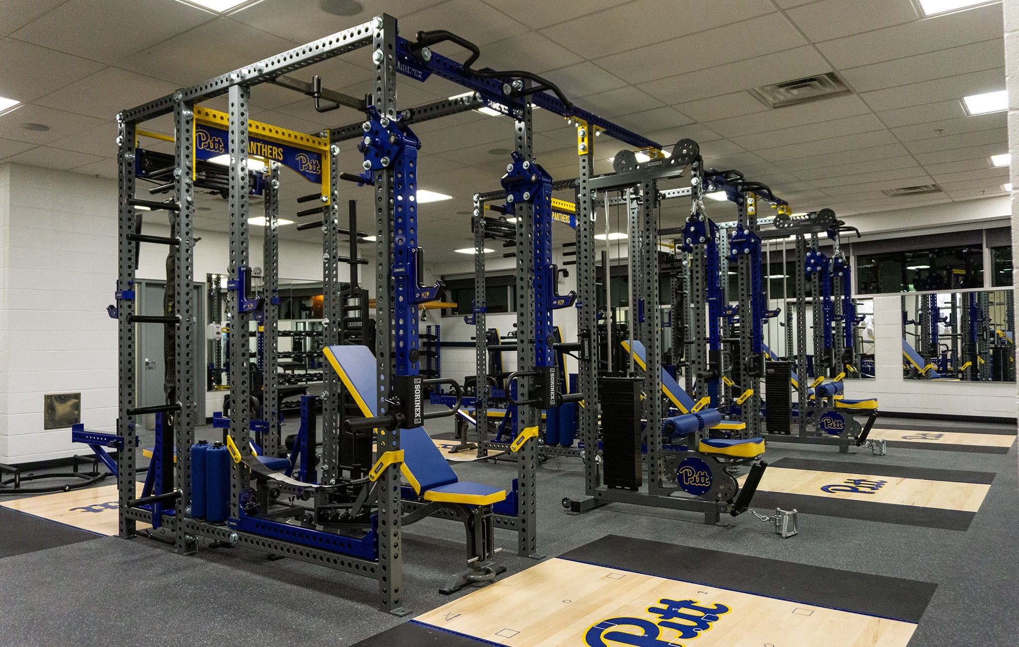 University of Pittsburgh Basketball Weight Room