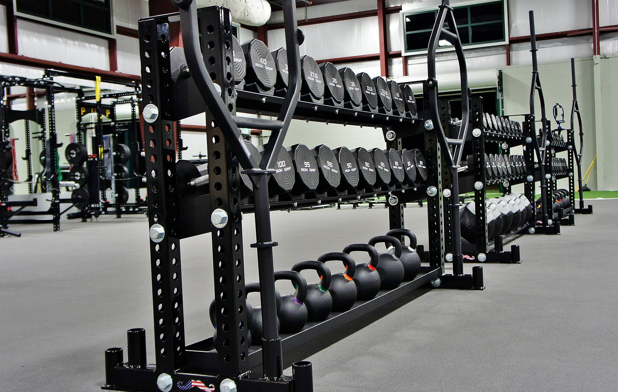 Professional baseball strength training facilities