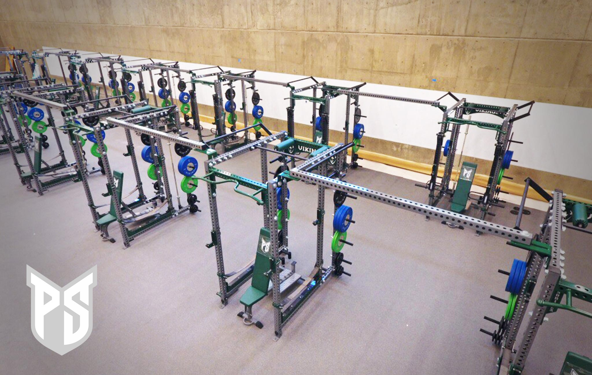 Portland State University Sorinex strength and conditioning facility