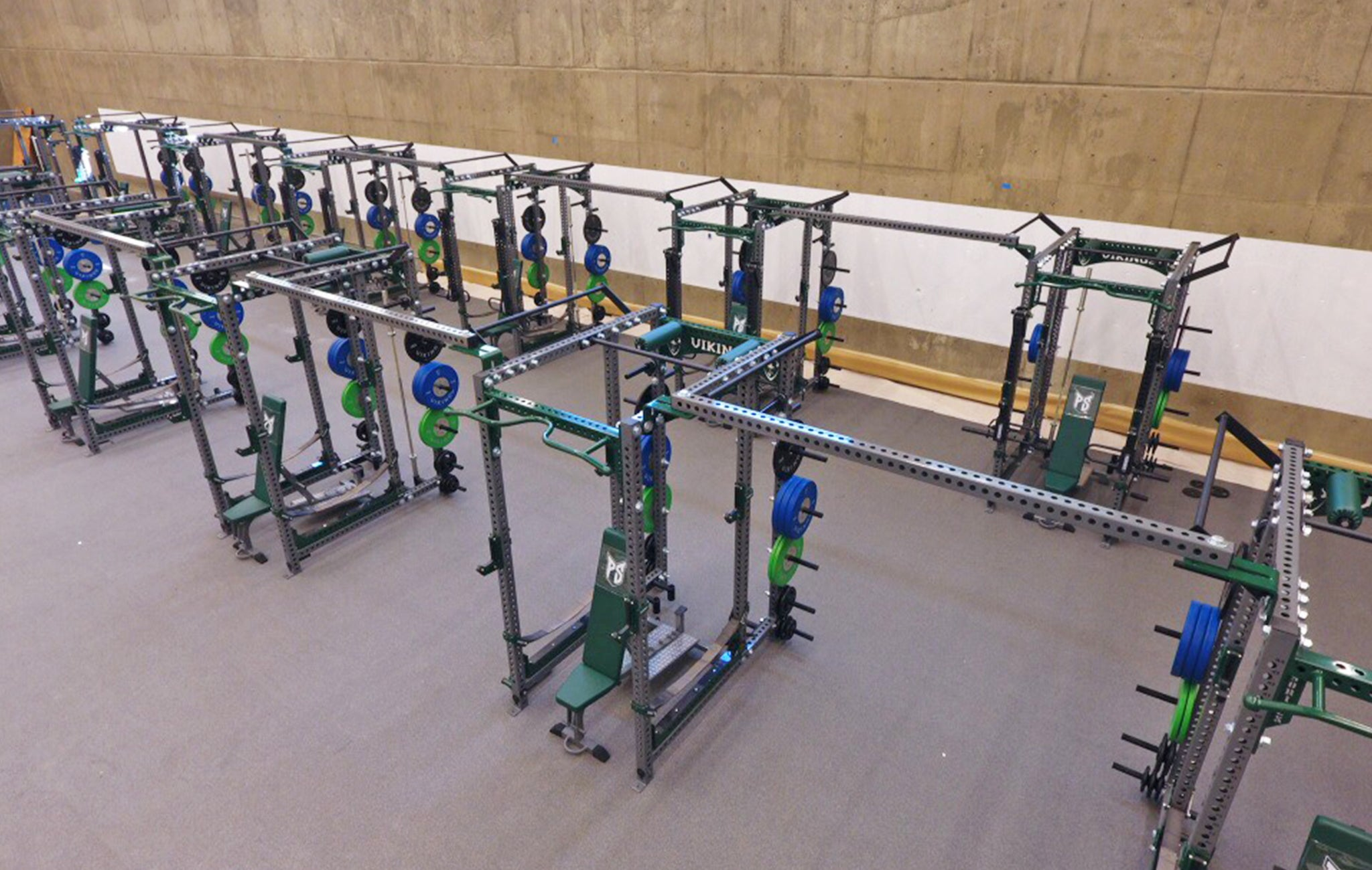 Portland State University Weight Room