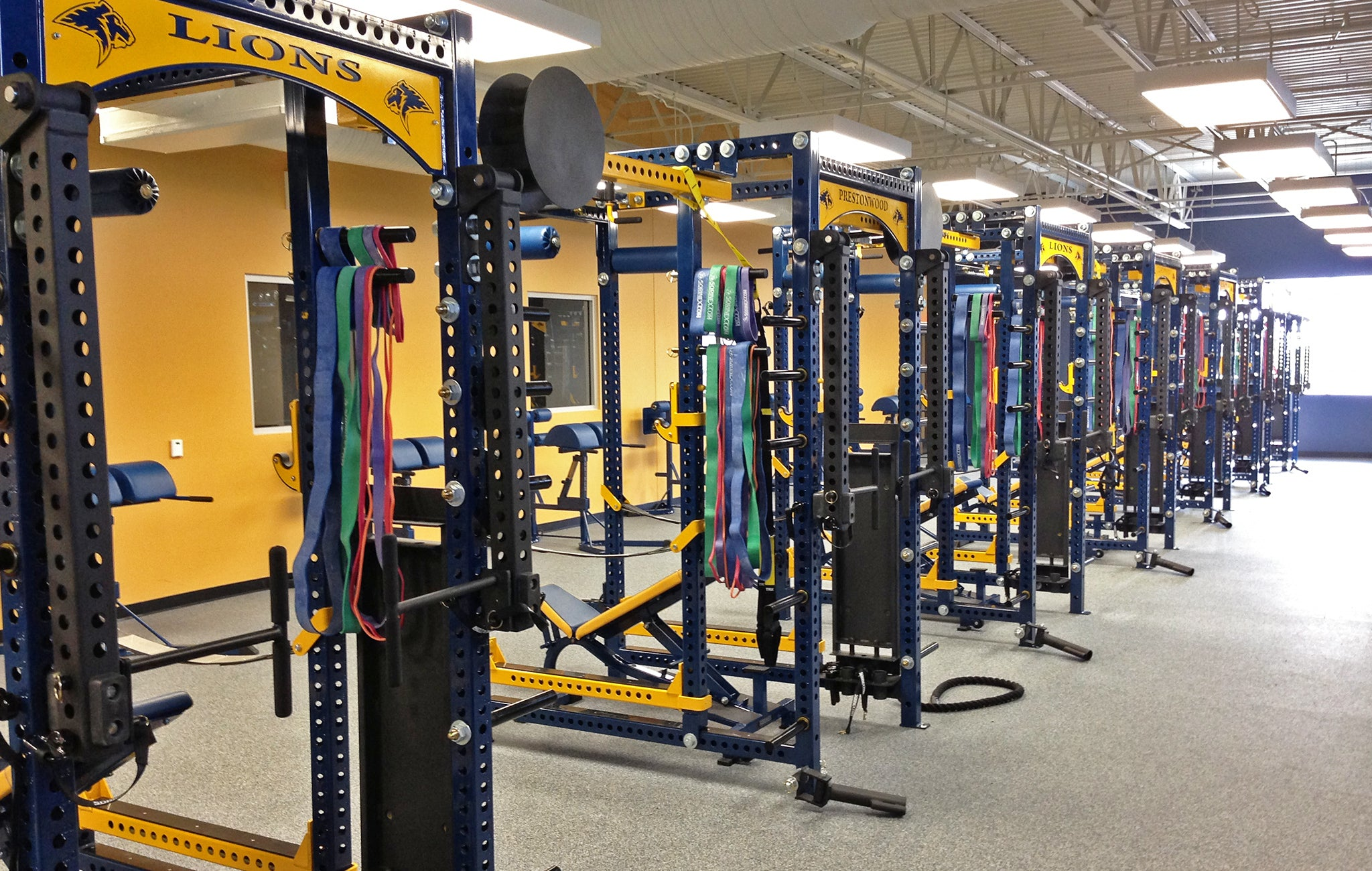 Prestonwood Christian Academy strength and conditioning