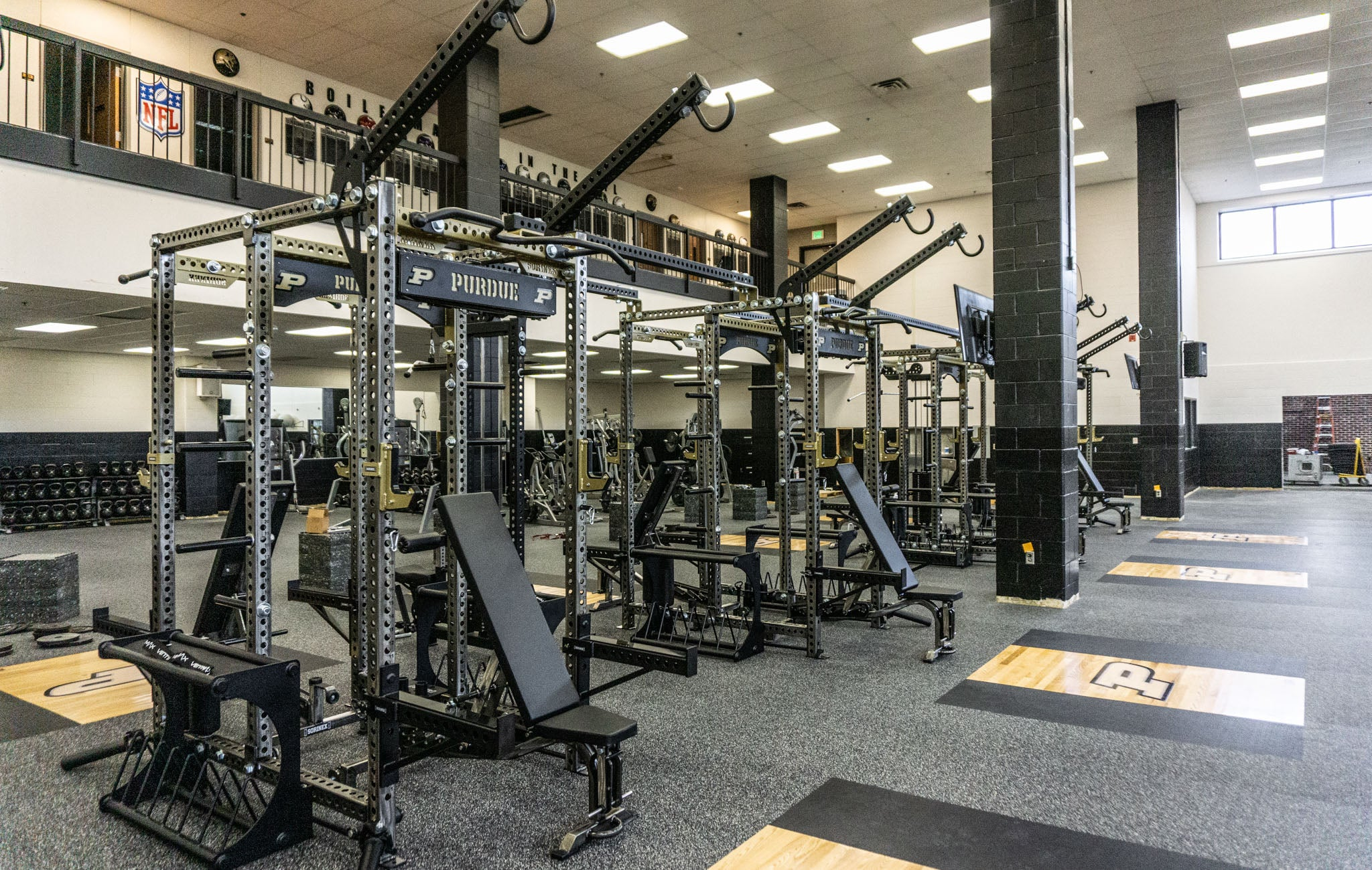 Purdue University Olympic strength and conditioning