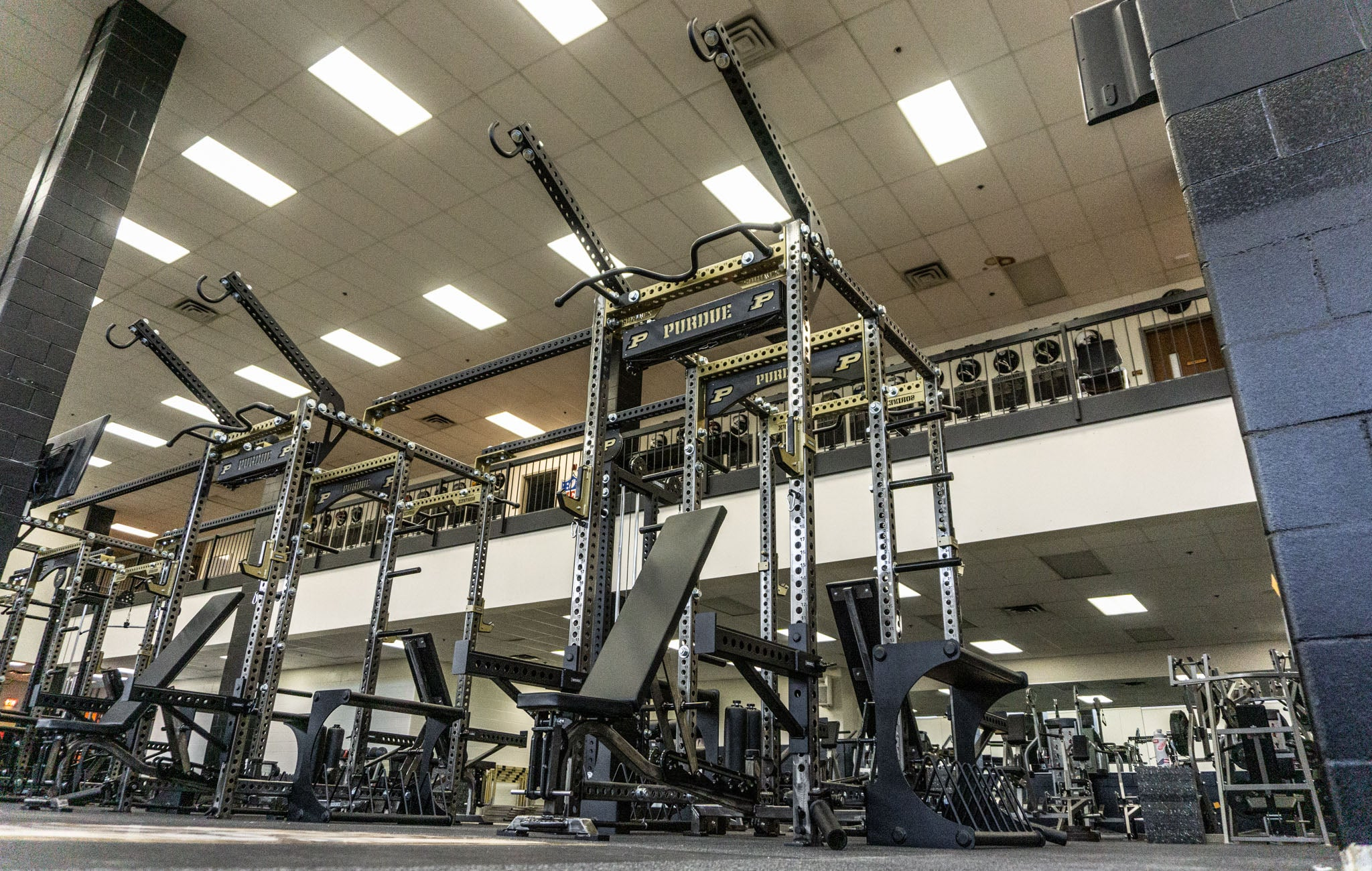 Purdue University Olympic Power Racks