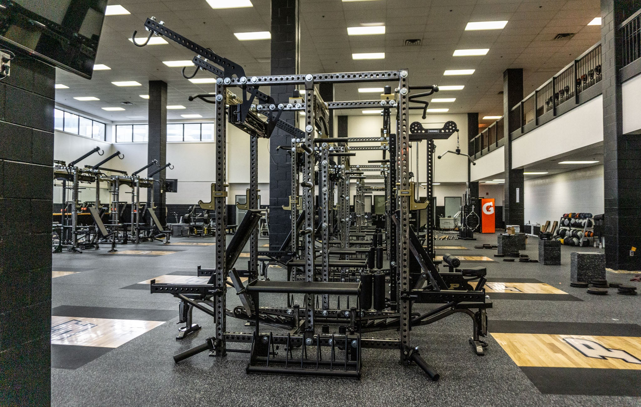 Purdue University Olympic Custom Weight Room