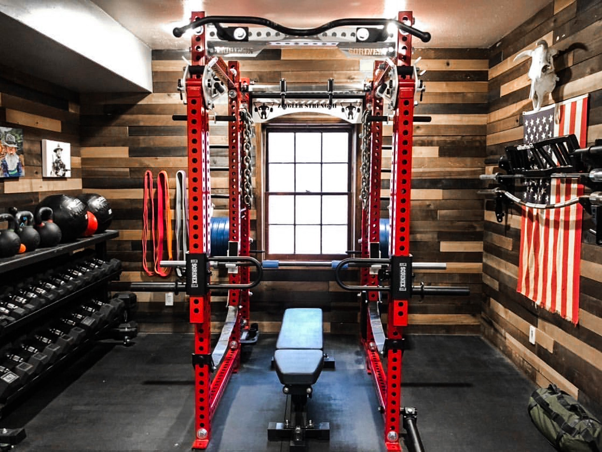 Ray Zingler Garage Gym