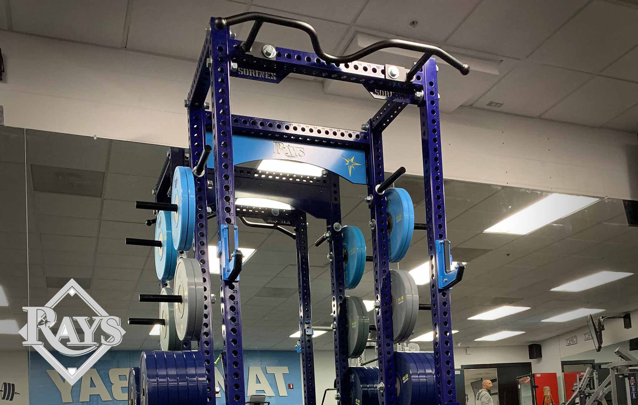 tampa bay rays Sorinex strength and conditioning facility