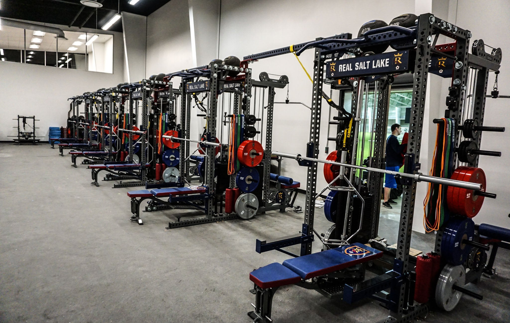 Real Salt Lake Weight Room
