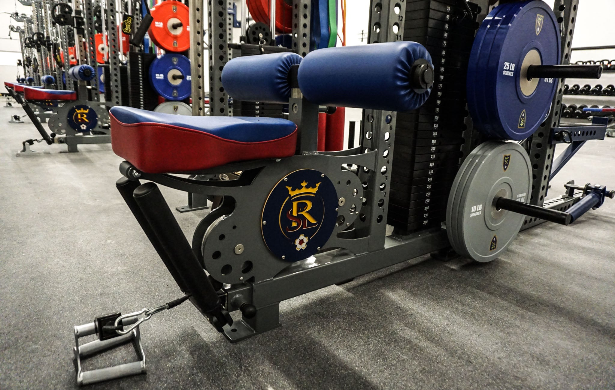 Real salt Lake strength training
