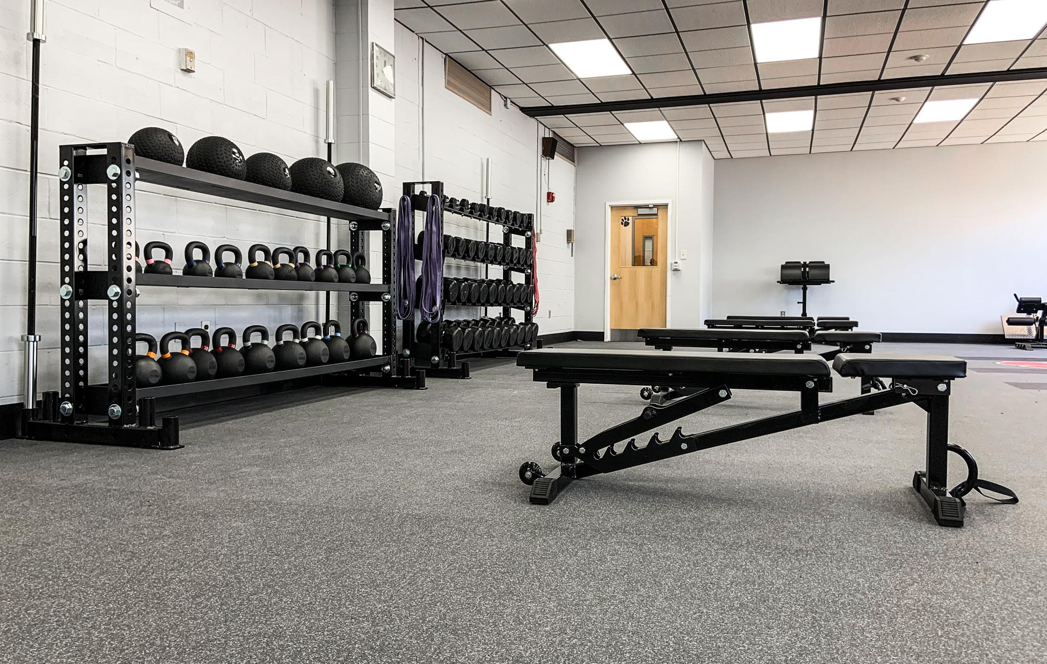 Roselle Park High School strength and conditioning