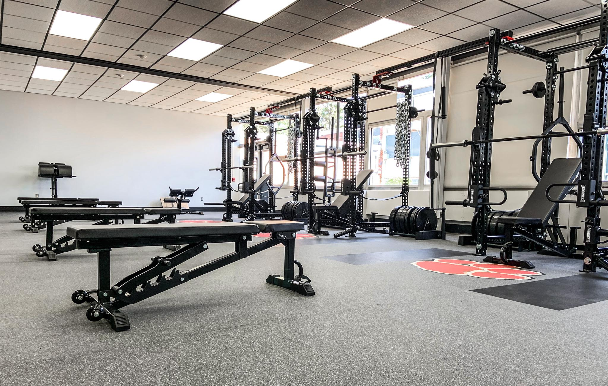 Roselle Park High School Weight Room