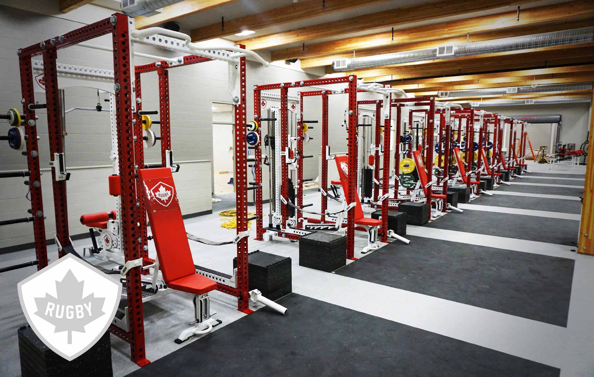 Rugby Canada Sorinex strength and conditioning facility