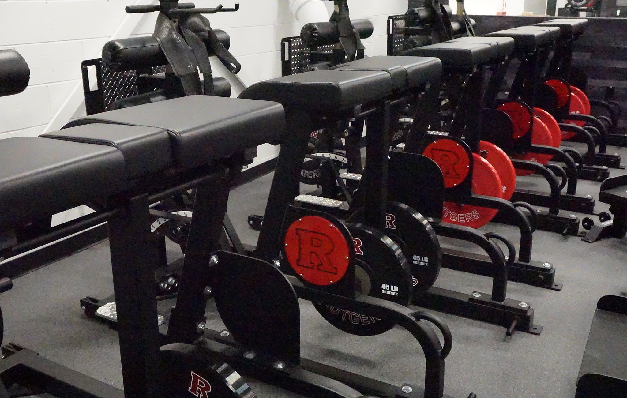 Rutgers University Weight Room