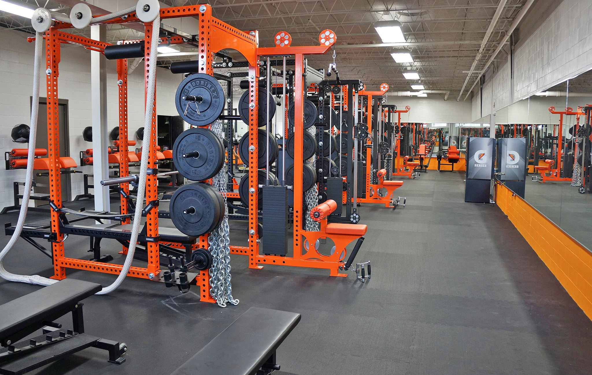 Saint Pius X High School strength and conditioning