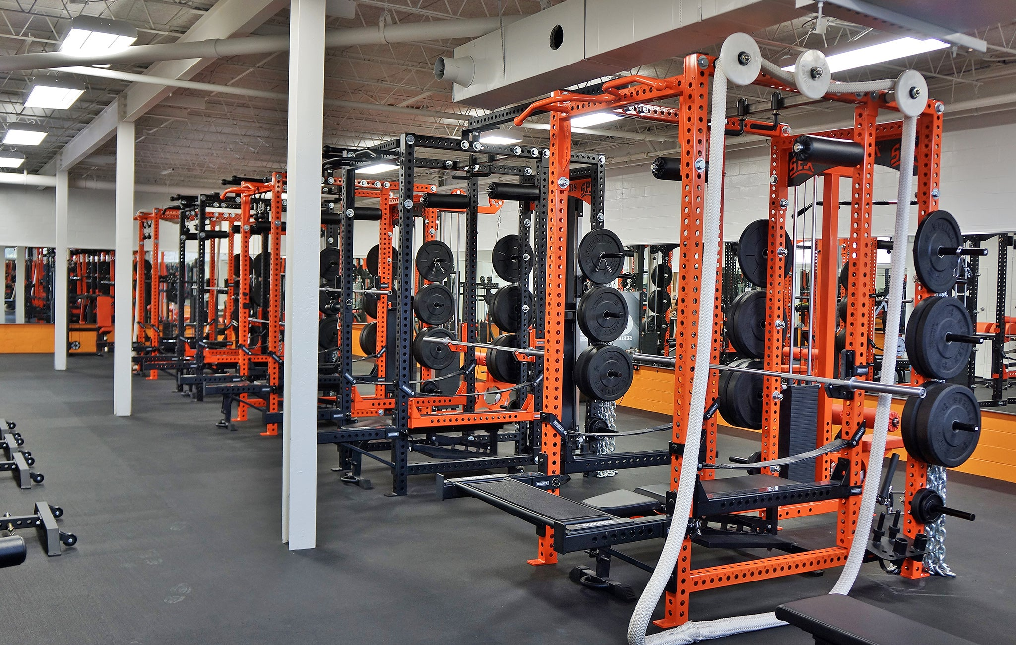 Saint Pius X High School Weight Room