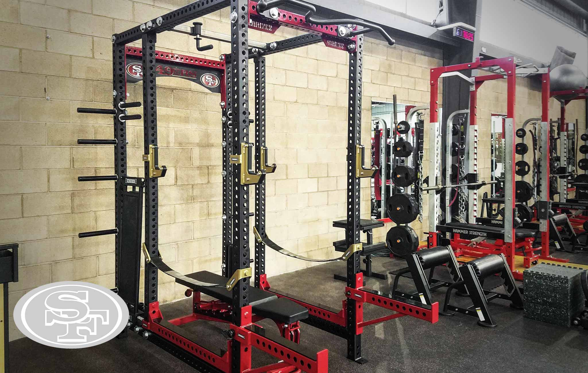 San Fransisco Sorinex strength and conditioning facility