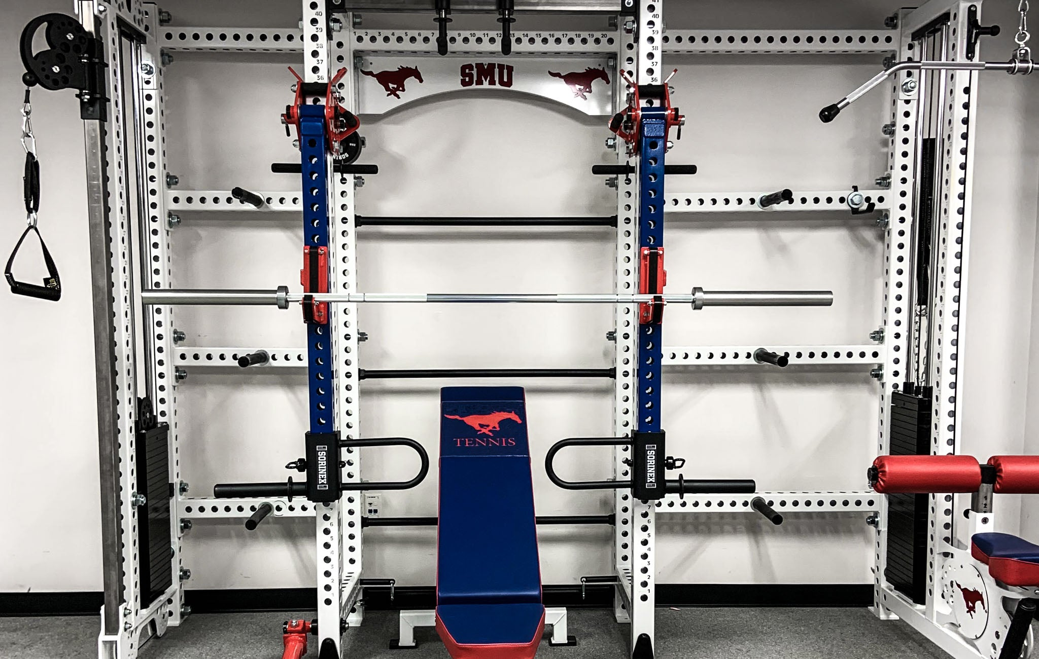 sorinex college weight rooms