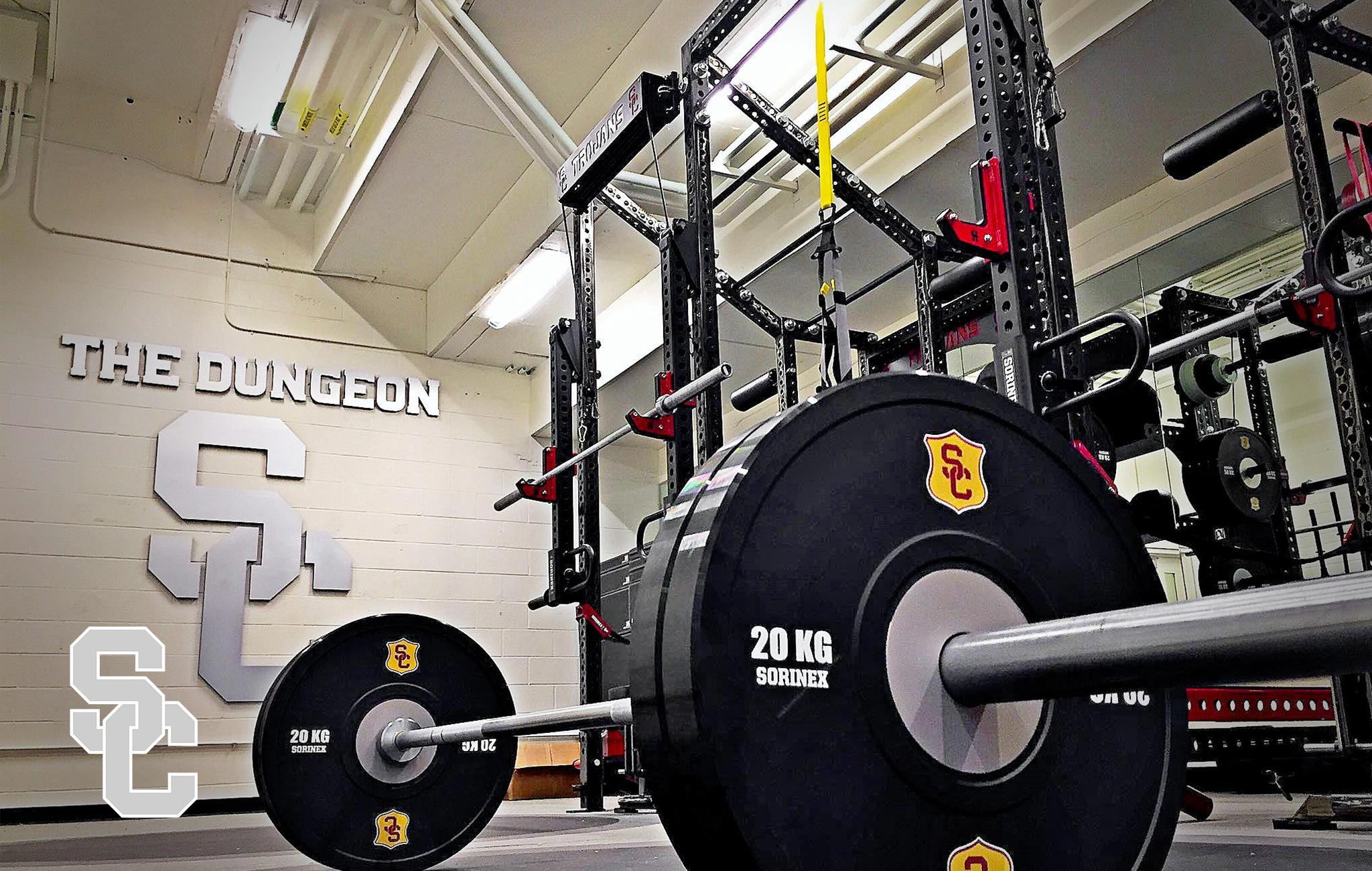 Southern California throwers Sorinex strength and conditioning facility
