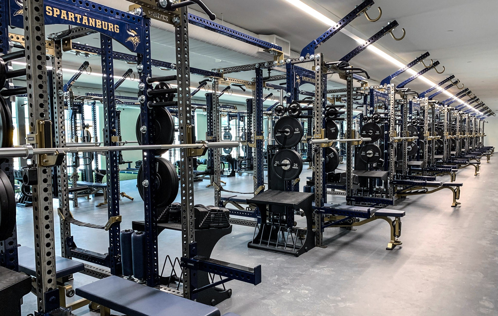 Spartanburg High School strength and conditioning