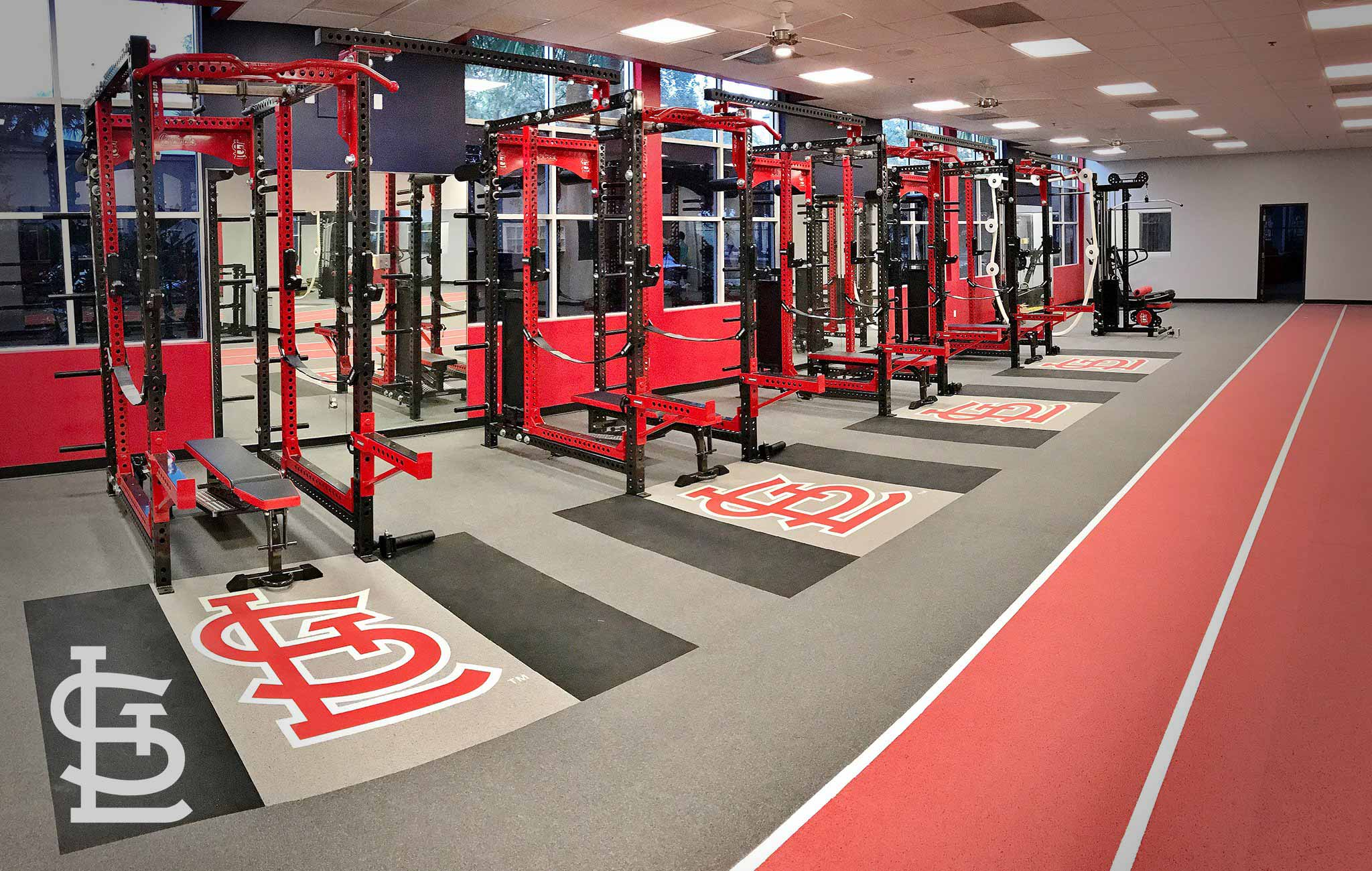St. Louis Cardinals Sorinex strength and conditioning facility