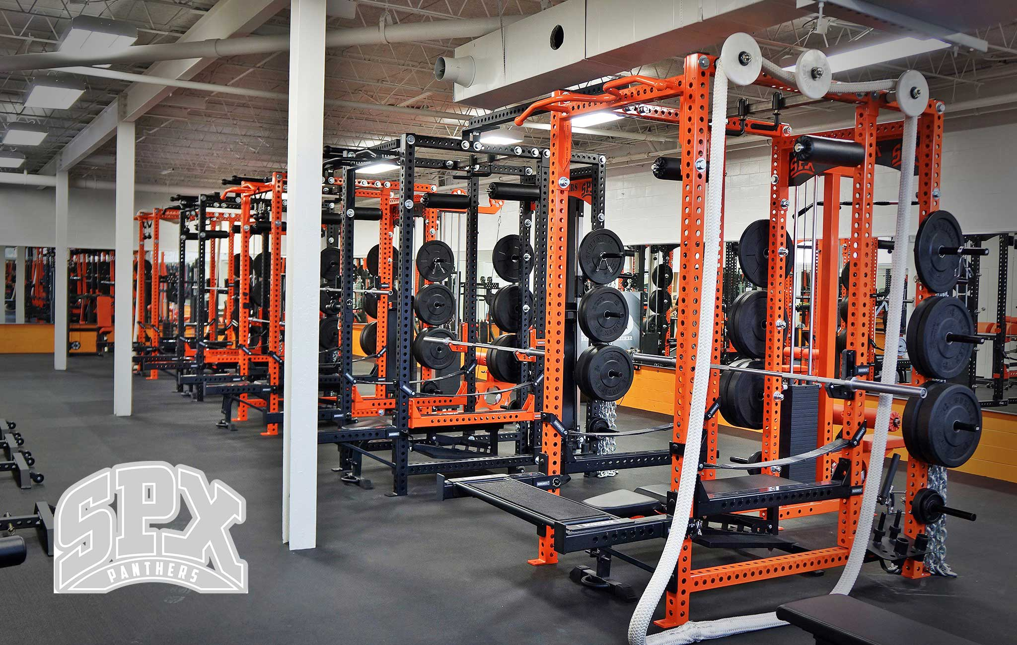 St Pius X High School Sorinex strength and conditioning facility