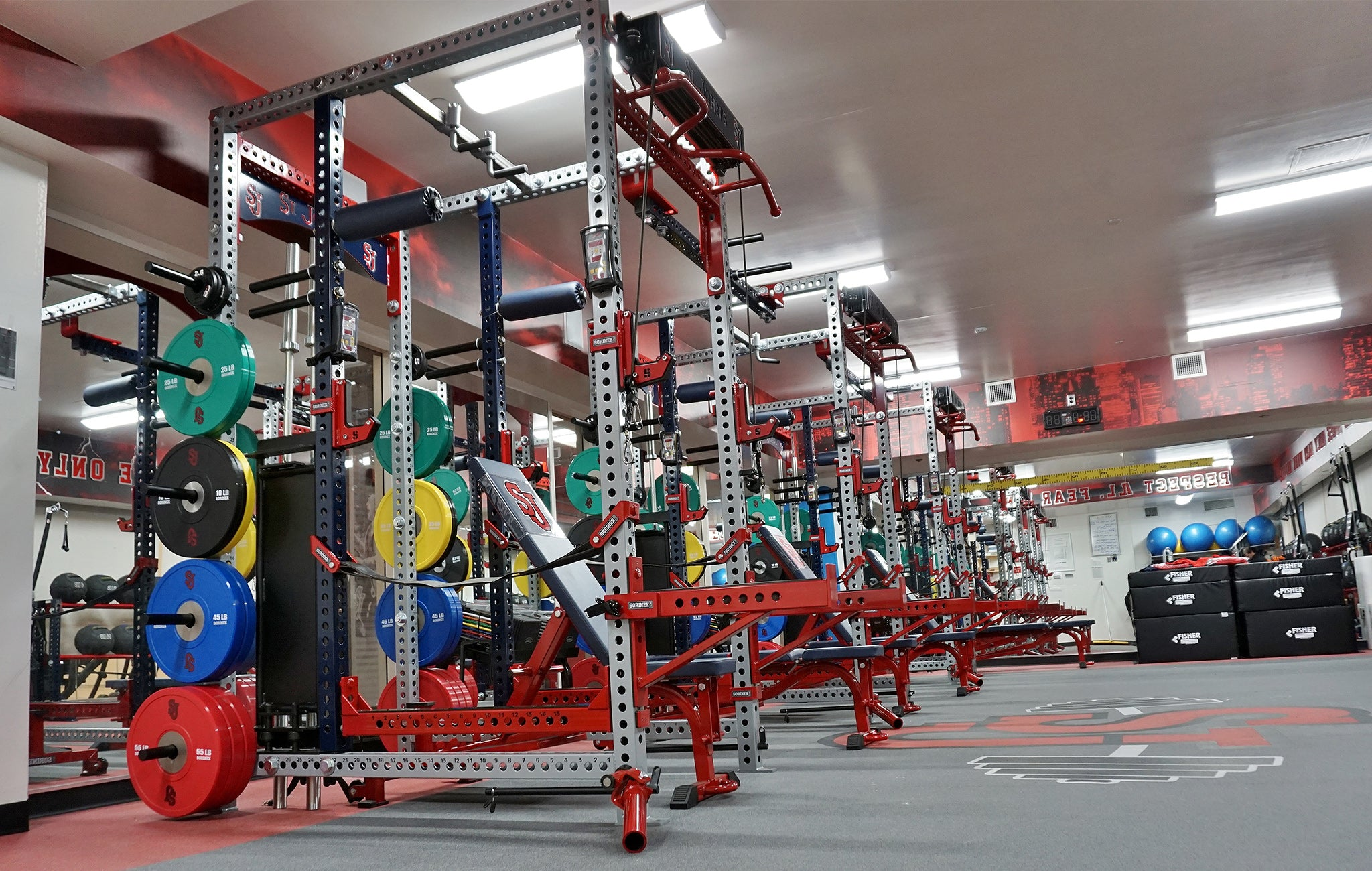 St. John's University strength and conditioning