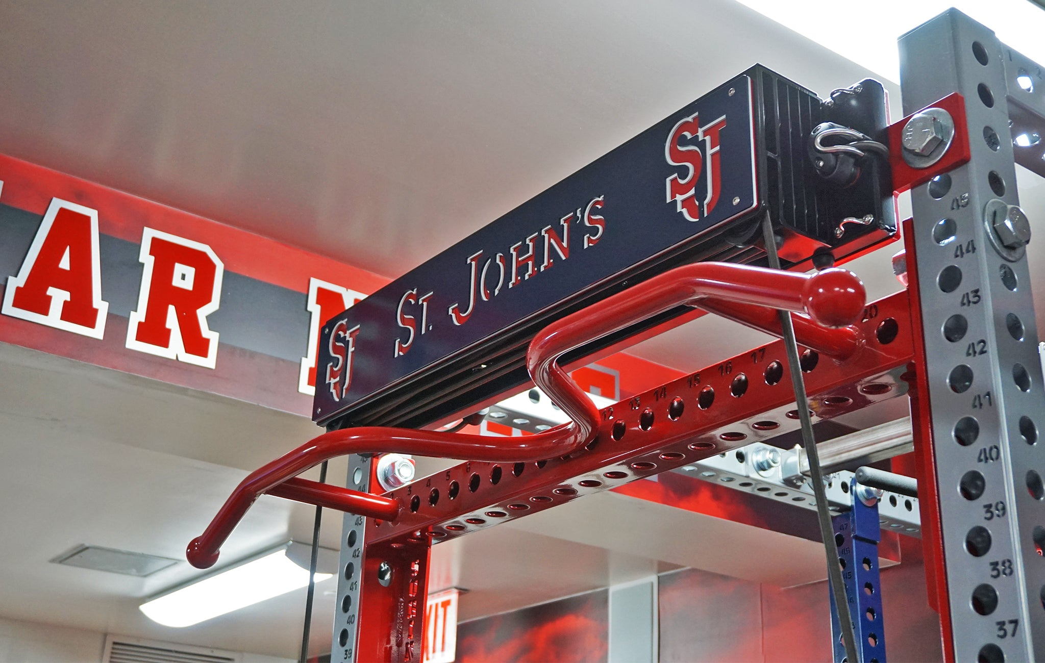 St. John's University strength training