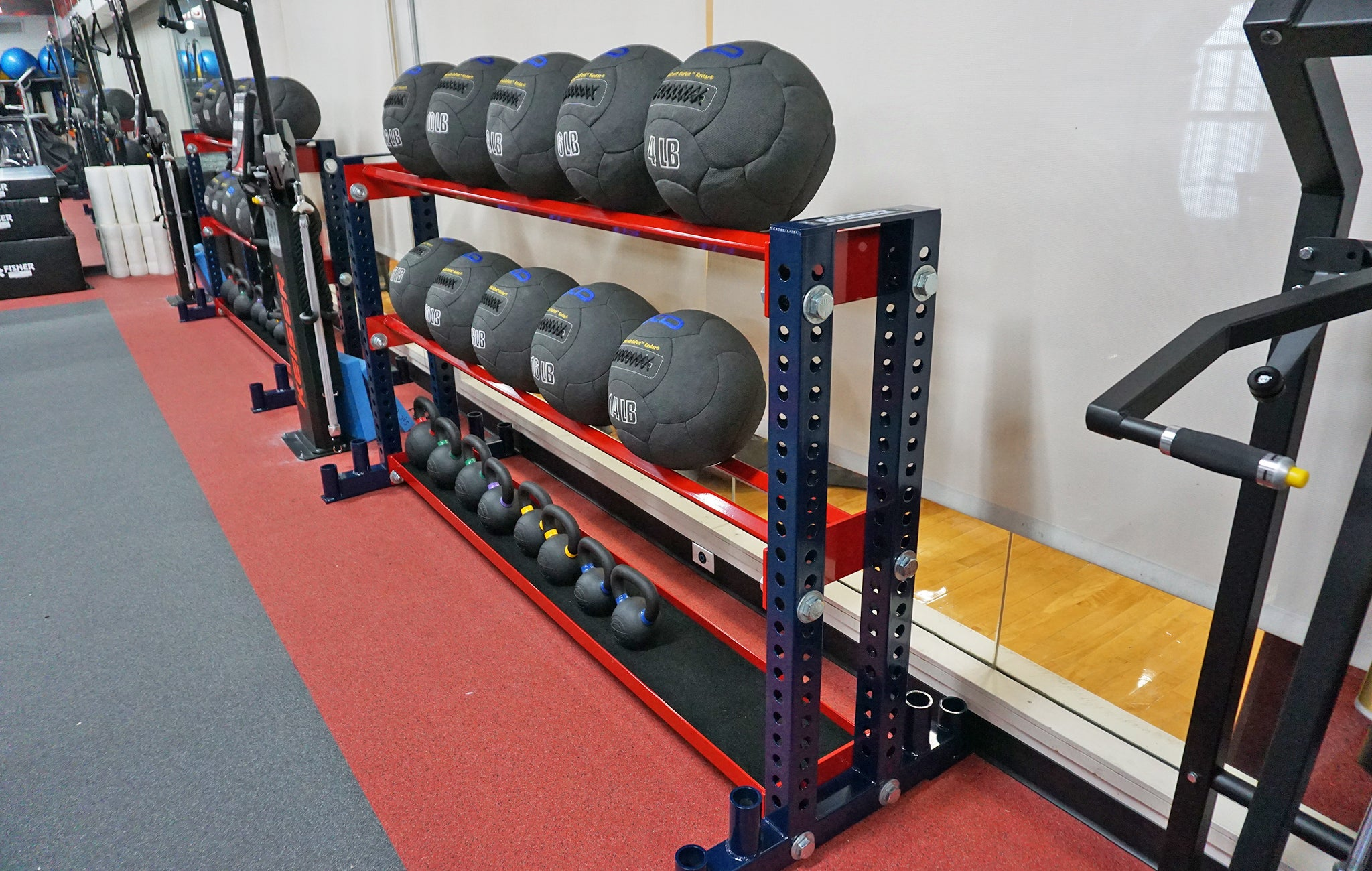 college strength and conditioning equipment
