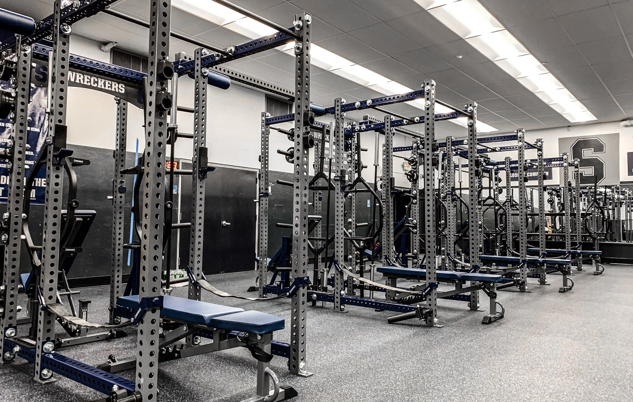 Staples High School strength and conditioning