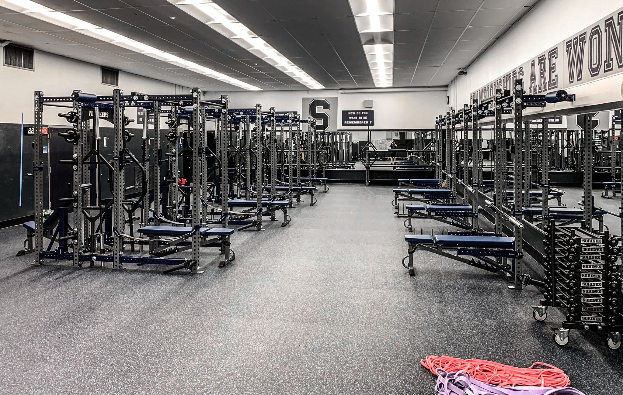 staples High School Weight Room