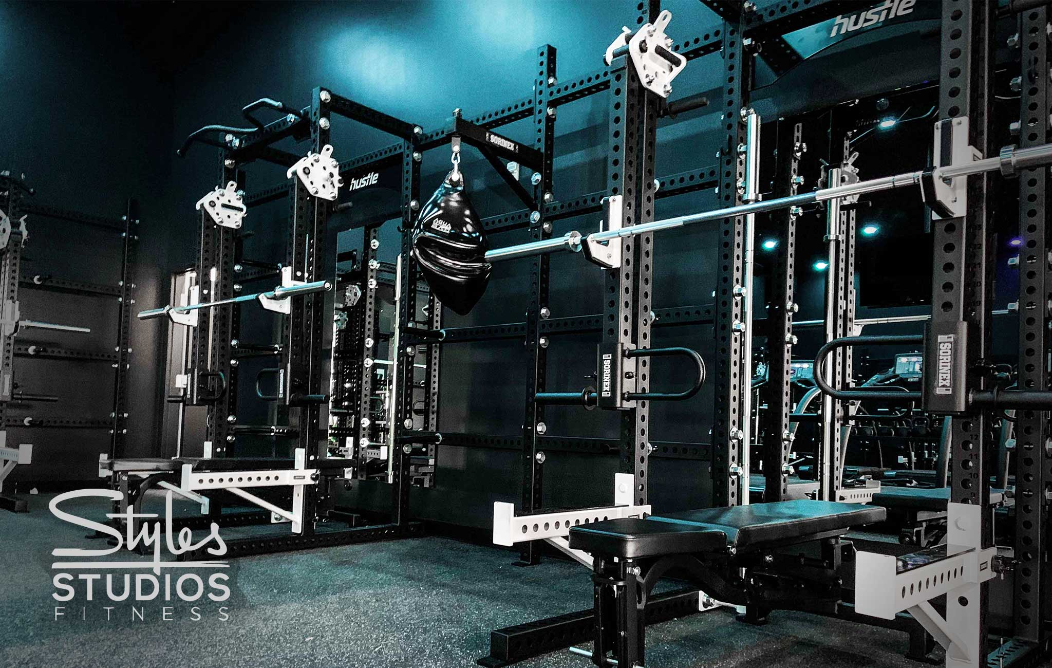 Styles Studio Fitness Private Training facility Sorinex