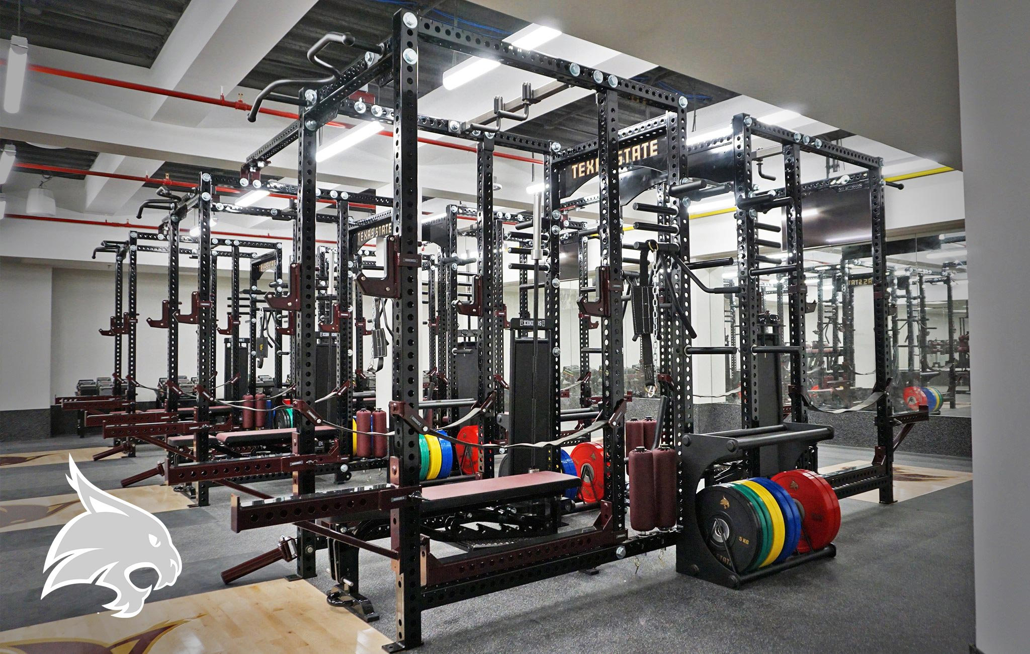 Texas State Sorinex strength and conditioning facility