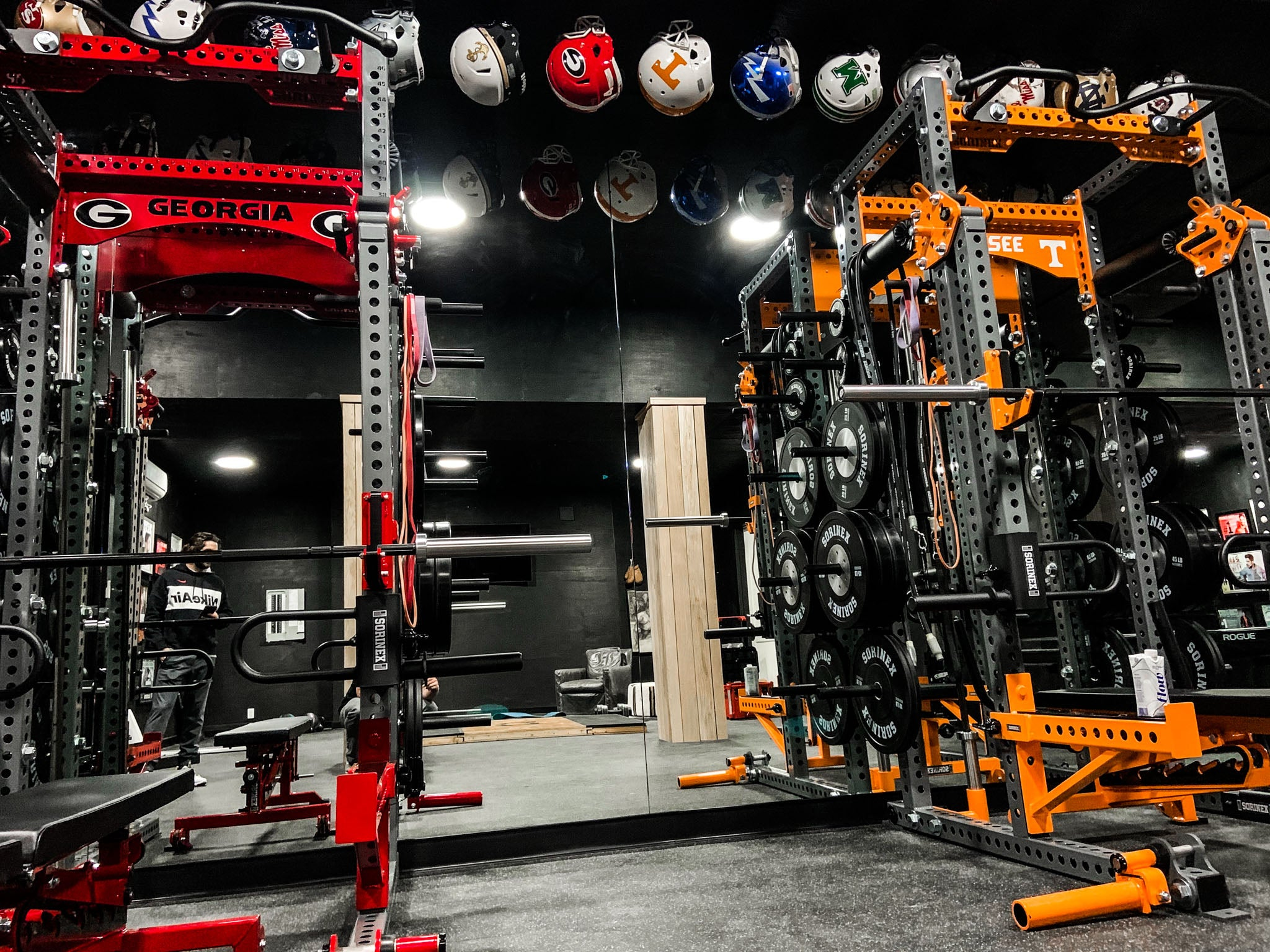Thomas Rhett Home Gym